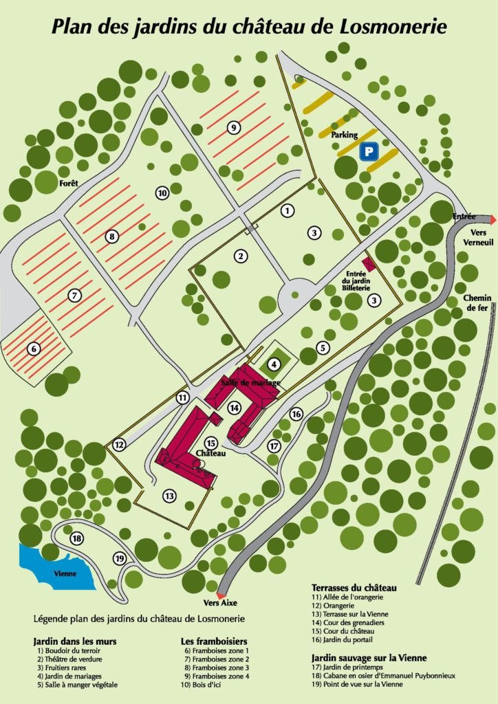 Plan Domaine de Losmonerie